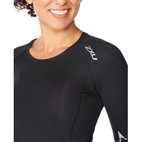 2XU Core Compression LS Shirt Women, negro